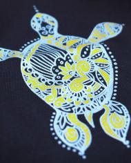 Navy Blue Kurma Womens T-Shirt