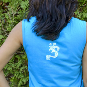 OM Turquoise Tank top for Women