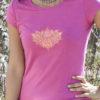 Padma Pink Lotus Tee for Women