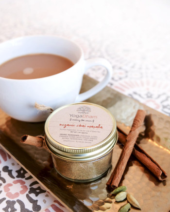 Organic Spice blend for Tea by YogaDham