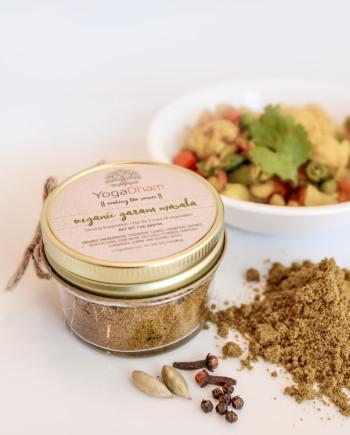 Organic spice blend by YogaDham.com
